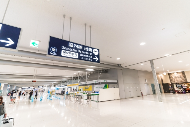 関西国際空港 出発ロビー