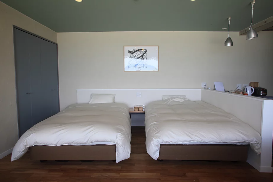 ロスフィーリゾート ベッドルーム
