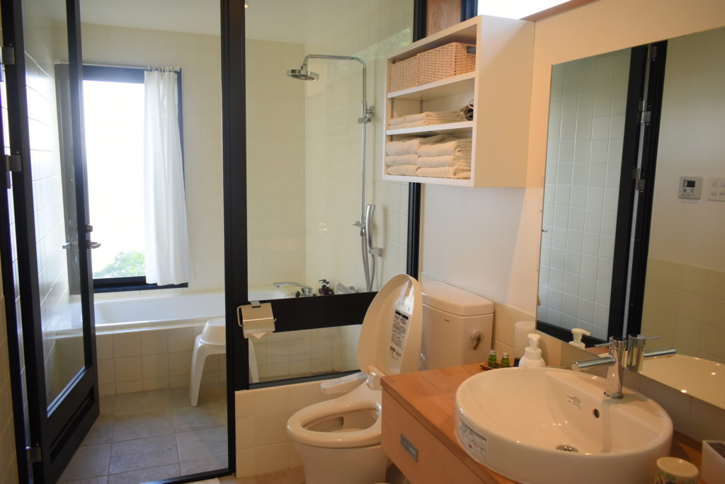 ヴィラさちばる バスルーム
