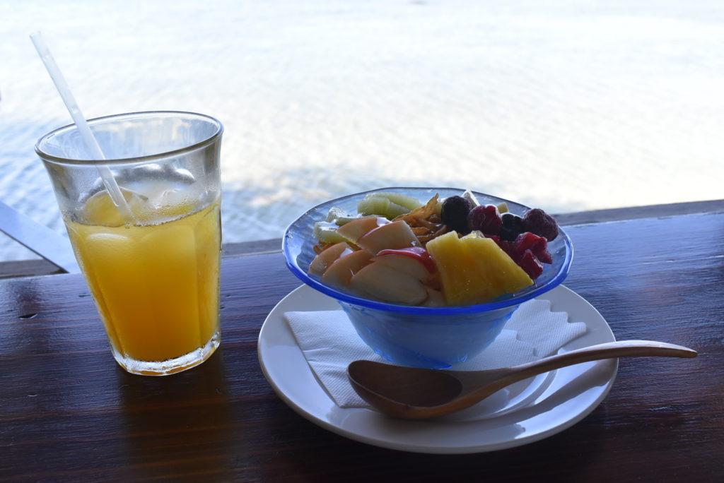 ヴィラさちばる 朝食ヨーグルト