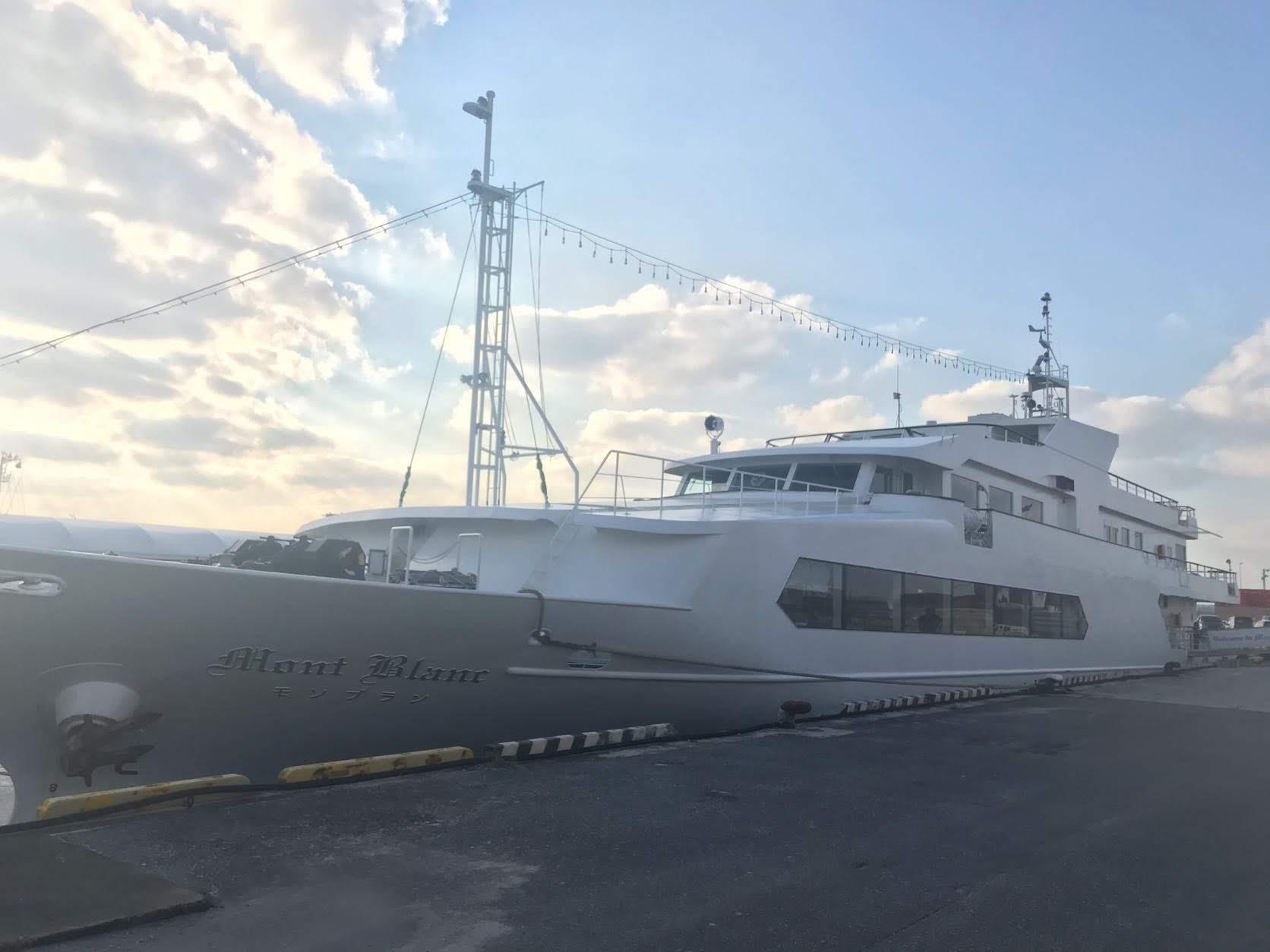 クルーズ船モンブラン