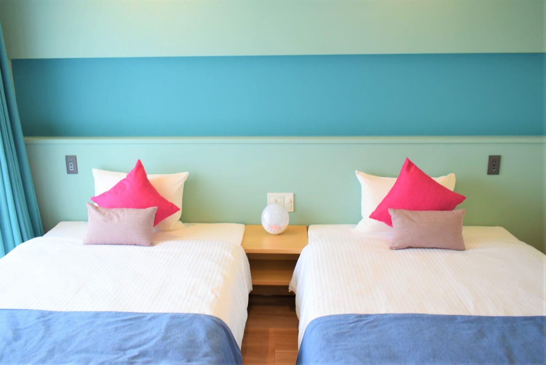 ブルーコーブテラス ベッド